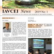 Latest IAVCEI Newsletter – 1/2019