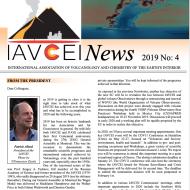 Latest IAVCEI Newsletter – 4/2019