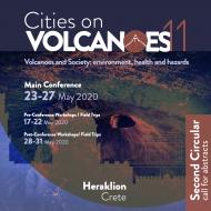 Cities on Volcanoes 11 – Heraklion 23-27 May 2020 – Second Circular