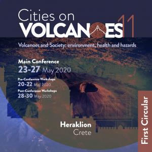 Cities on Volcanoes 11 - Heraklion 23-27 May 2020 - Second Circular