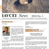IAVCEI Newsletter – 1/2018