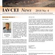 Latest IAVCEI Newsletter – 4/2018